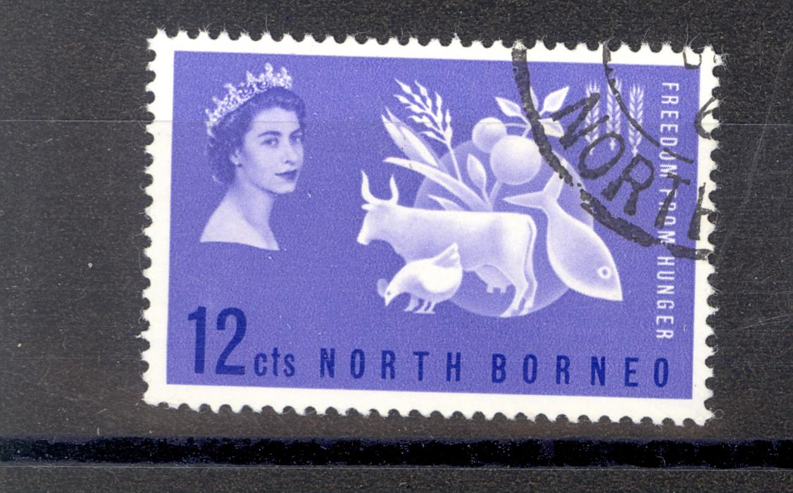 North Borneo Freedom From Hunger Stamp 1963