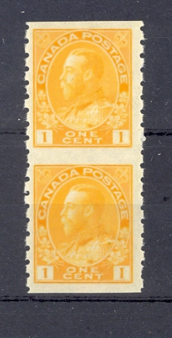 Canada GV Coil Pair SG 256c Unmounted Mint.