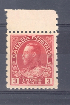 Canada SG 263 1931 GV 3 c Perf 12 x 8 Unmounted Mint.