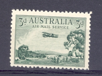 Australia SG 115 1929 Air Stamp. Unmounted Mint.