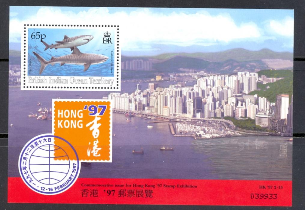 British Indian Ocean Territory SG MS 193 Hong Kong