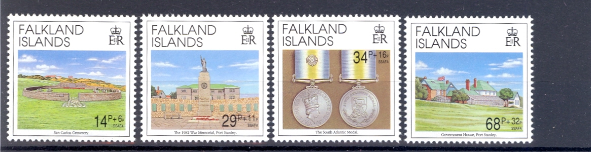 Falkland Islands SG 656-659 Aniiversary of Liberation Unmounted Mint.