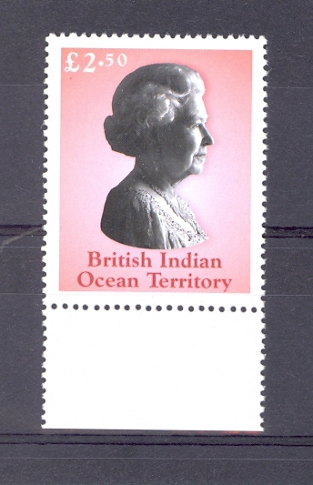 British Indian Ocean Territory SG 285 2003 Queen Elizabeth Unmounted Mint