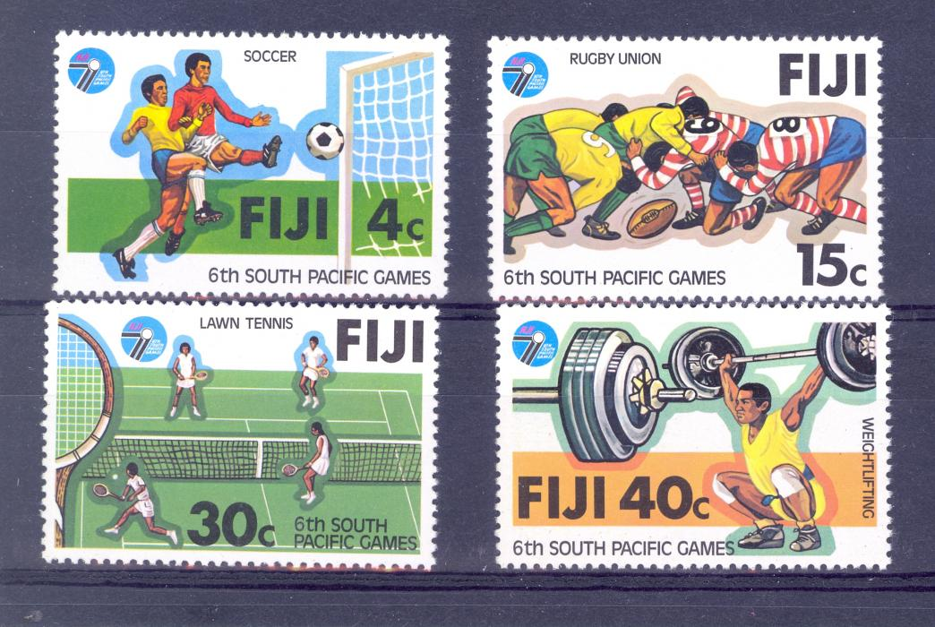 Fiji SG 572-575 1979 South Pacific Games MNH