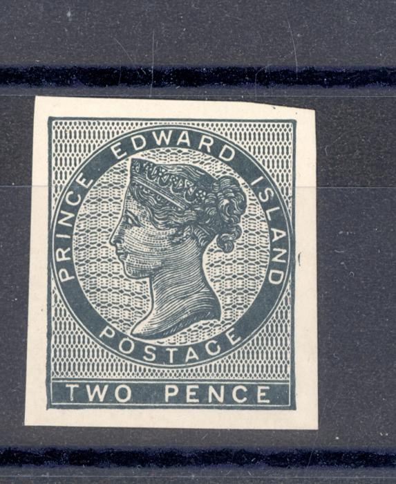 Canada Prince Edward Island Reprint Plate Proofs of Queen Victoria